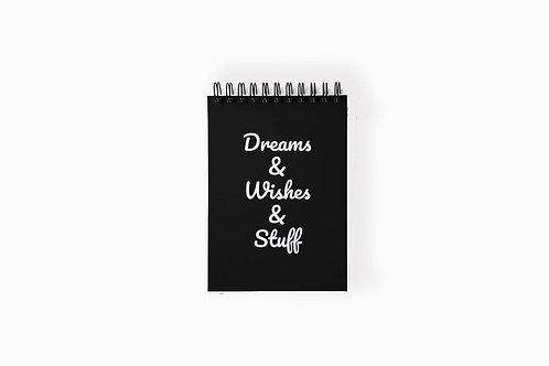 מחברת חלומות משאלות ועוד