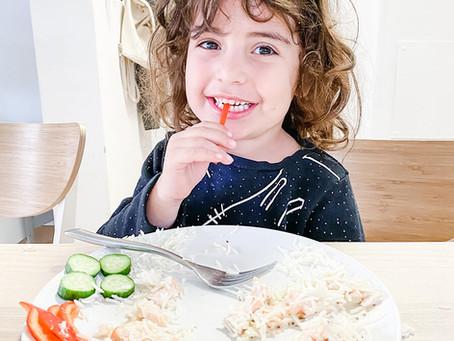 דוגמא אישית- תזונה בריאה
