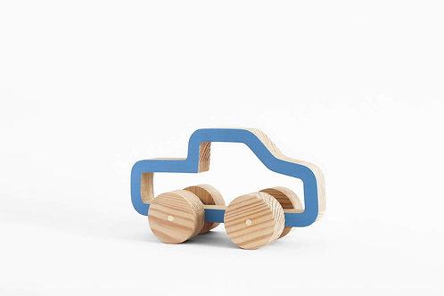 טנדר עץ- כחול