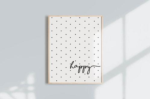 הדפס להורדה- Happy