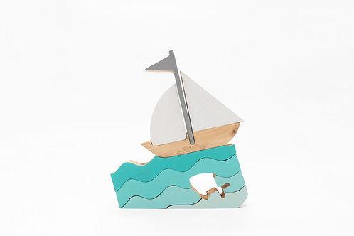 משחק הרכבה- סירה