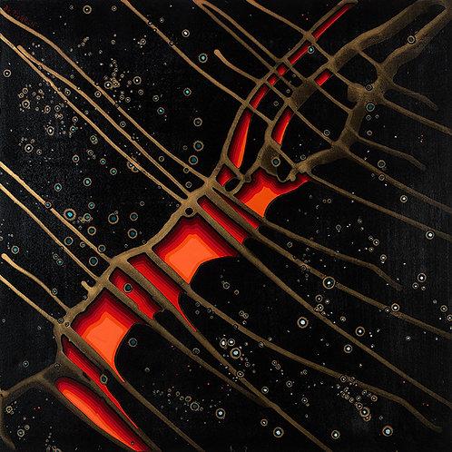 Bc. PIERRON :  Un réveillon sous les étoiles - Hauteur 50 cm