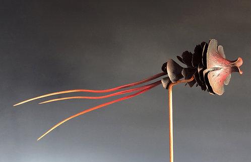 Guerrier de l'ombre - Larg 52 x Diam 12cm