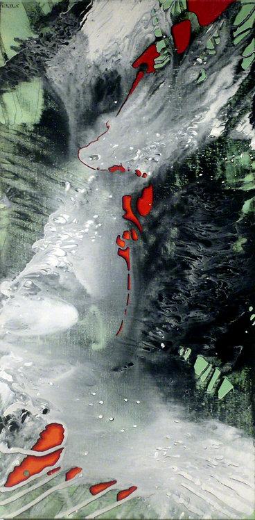 Bc. PIERRON  :  Danser sur un fil rouge  -  Hauteur 120 cm
