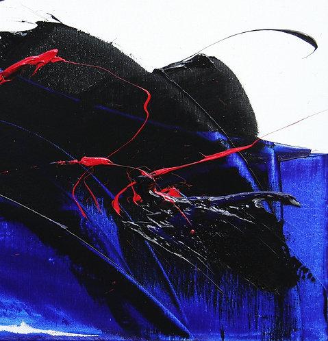 Huile sur toile, Réf. E02 - 60x60cm