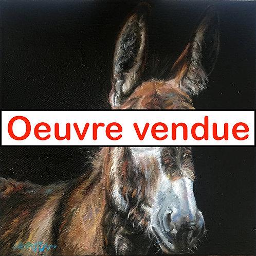 Âne, Réf. 20127  -  30x30 cm