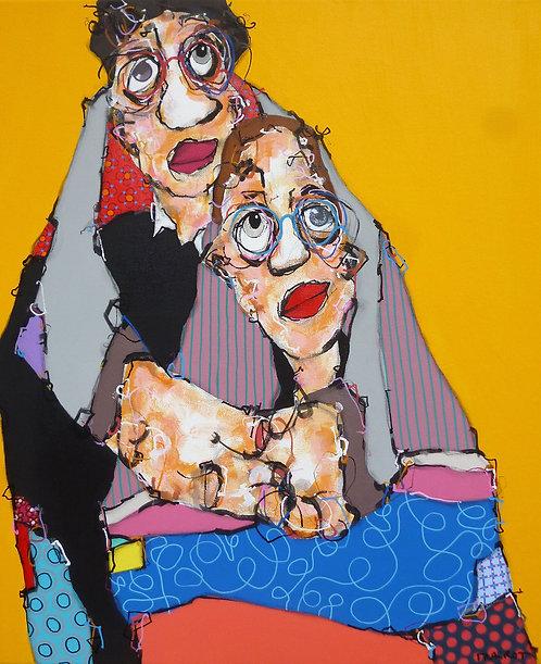 Maxime FRAIROT : J'ai toujours aimé le jaune  -  50 x 61 cm