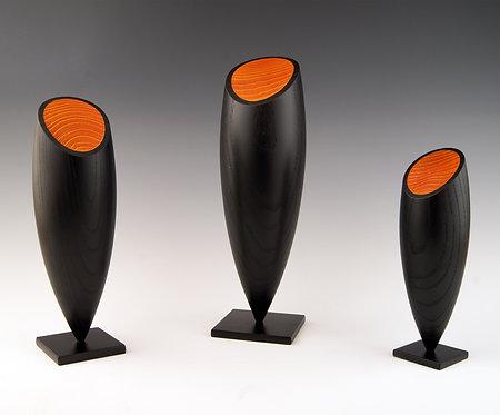 Les sentinelles  -  Hauteurs 24, 29 et 39 cm