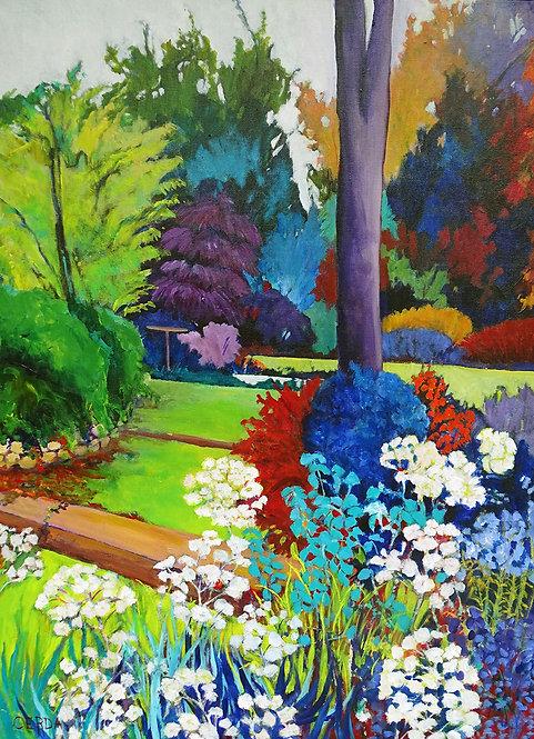 Le jardin de Michel - 65x81cm