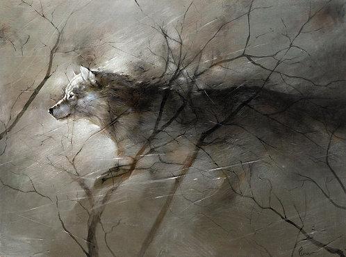 Apparition  -  120 x 88 cm
