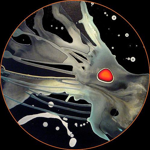 Un oeil dans le Cosmos - diamètre 50cm