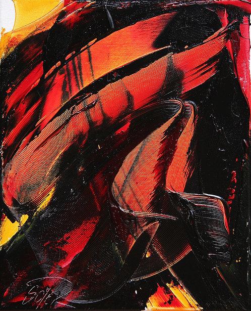 Jean SOYER : Sans titre, Réf. E36.   Format 33x41cm