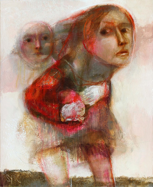 SYLC : Le refuge II - 50 x 61 cm