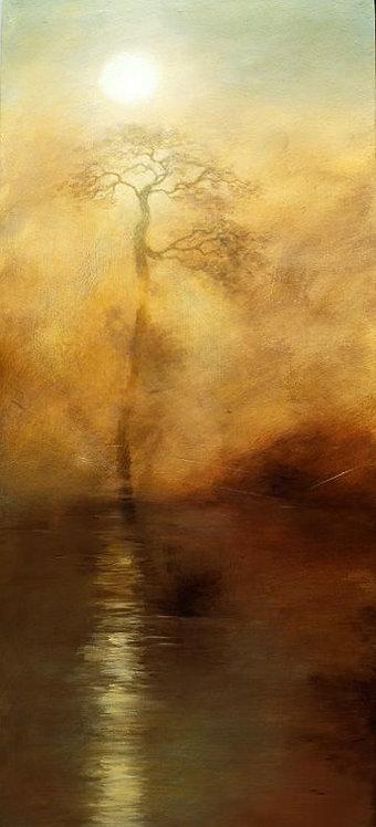Chemin des Lumières  -  37 x 83 cm