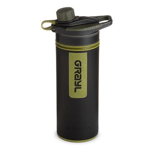 Grayl Geopress Purifier Bottle - Camo Black