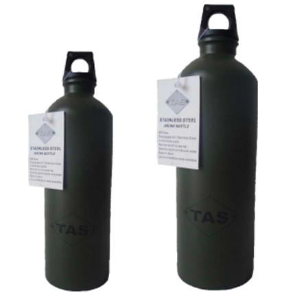 TAS - STAINLESS STEEL DRINK BOTTLES