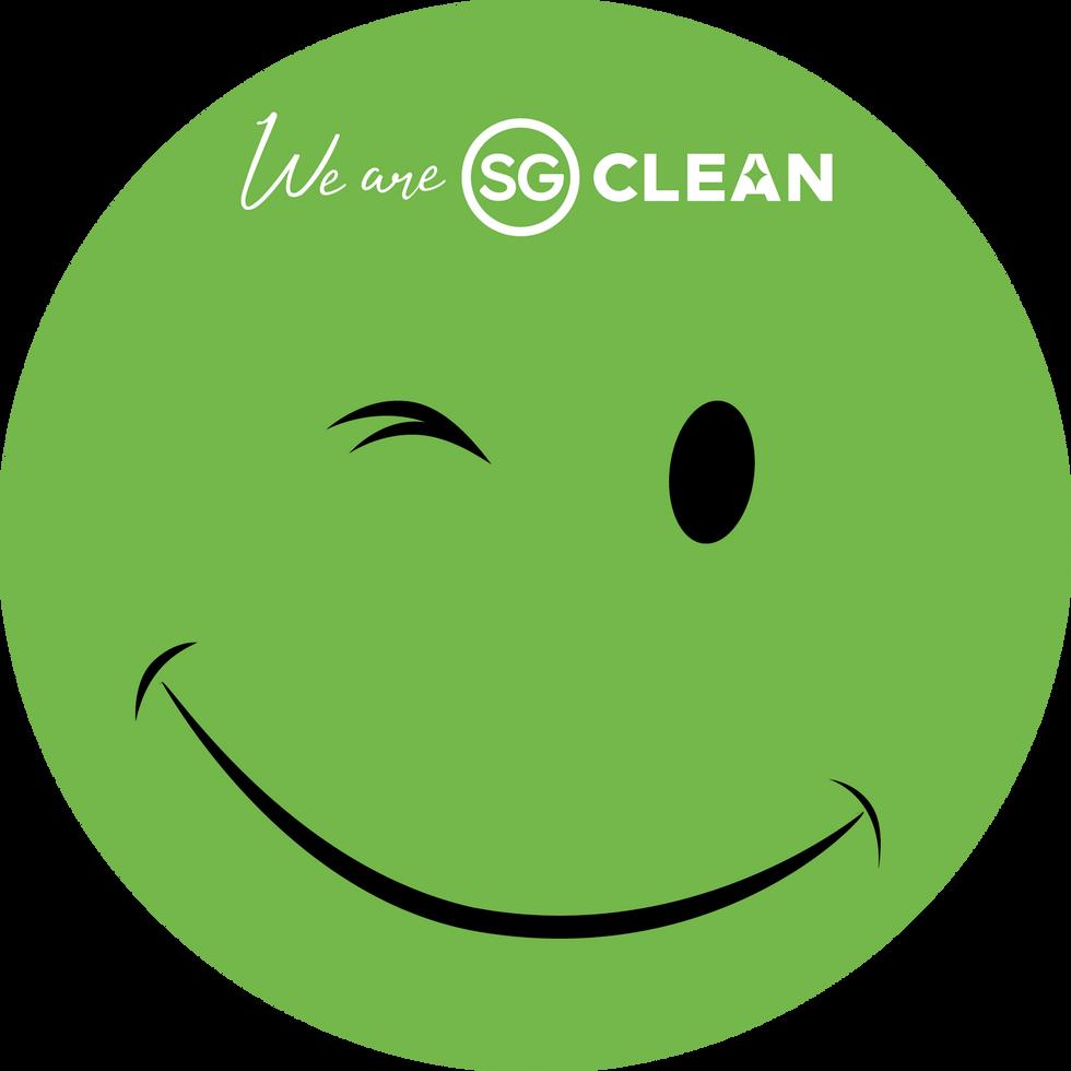 SG Clean DIGITAL Decal Sticker, 15cm (1)