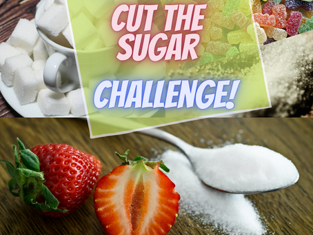 """Take the 7-Day """"Cut the Sugar"""" Challenge!"""