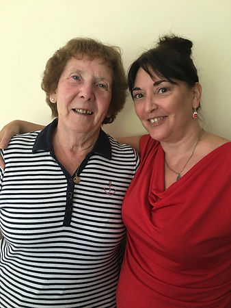 My mum inspired me to become a carer/helper