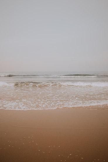 'Gloomy Beach' Print
