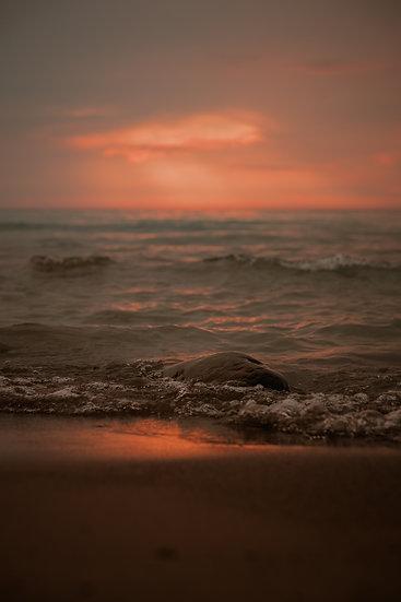 'Sunset Beach' Print
