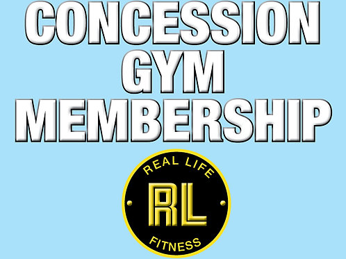 Concession 3 Month Gym Membership