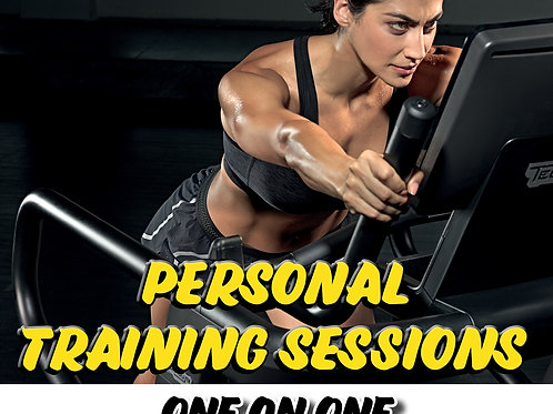 Personal Training Session One on One