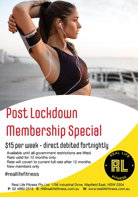 Post Lockdown Membership Special June 20