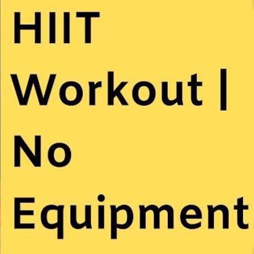 Hiit Blast 30 Minute Video #1 No Equipment