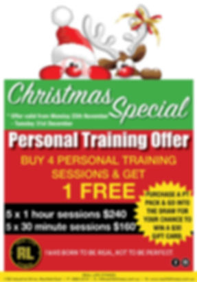 Christmas Personal Training Special_2019