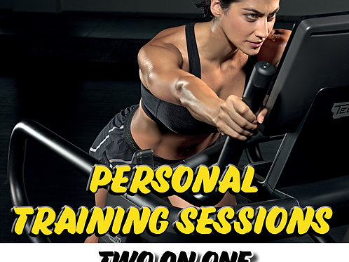 Personal Training Session Two on One