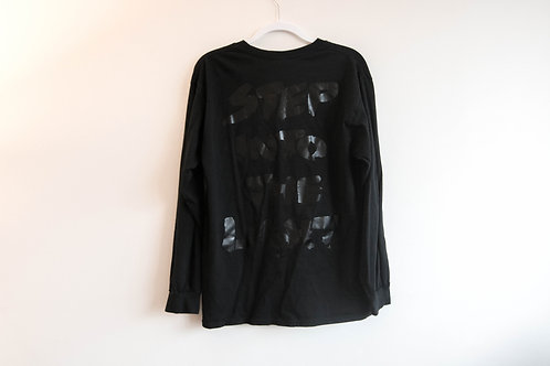 Step Into The Light L/S Tee - Black Out