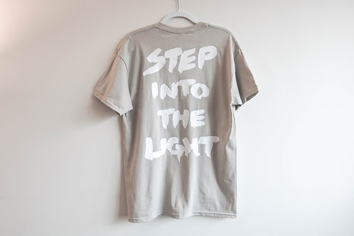 Step Into The Light S/S Tee - Sand