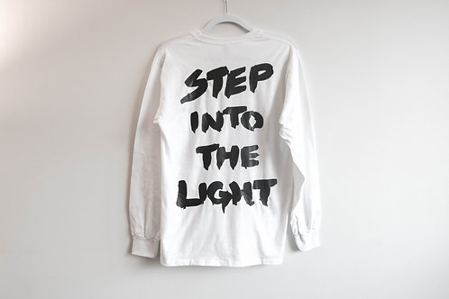 Step Into The Light L/S Tee - Black & White