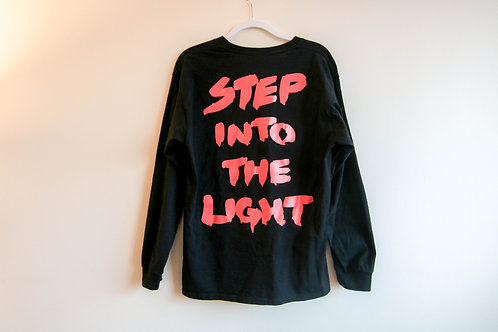 Step Into The Light L/S Tee - Hibiscus
