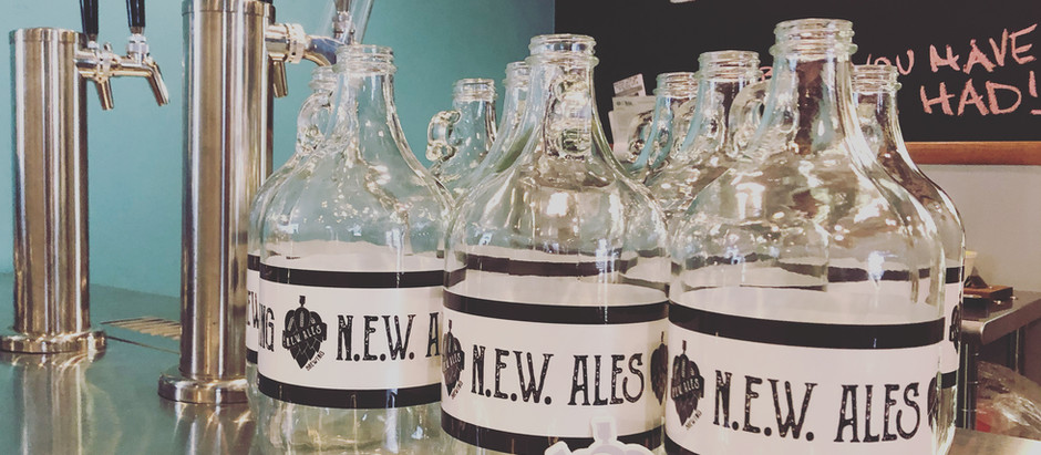 Growler Fills and New Taproom