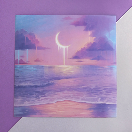 "Square Print of ""Sky Palette"""