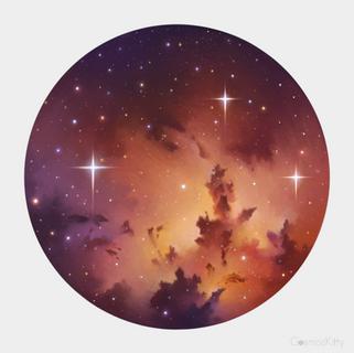 Little Universe - Sticker Design