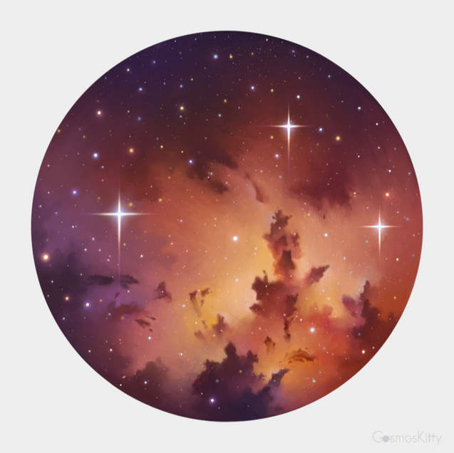 Little Universe - Sticker Design