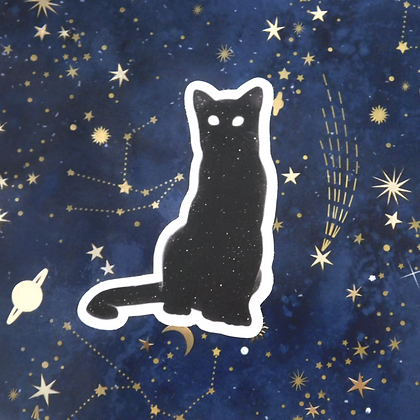 Starry Kitty - Vinyl Sticker