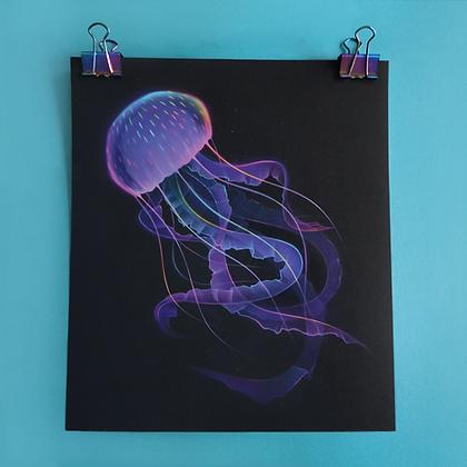 "Print of ""Bioluminescence"""