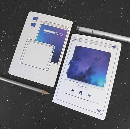Cosmix - A6 Notebook