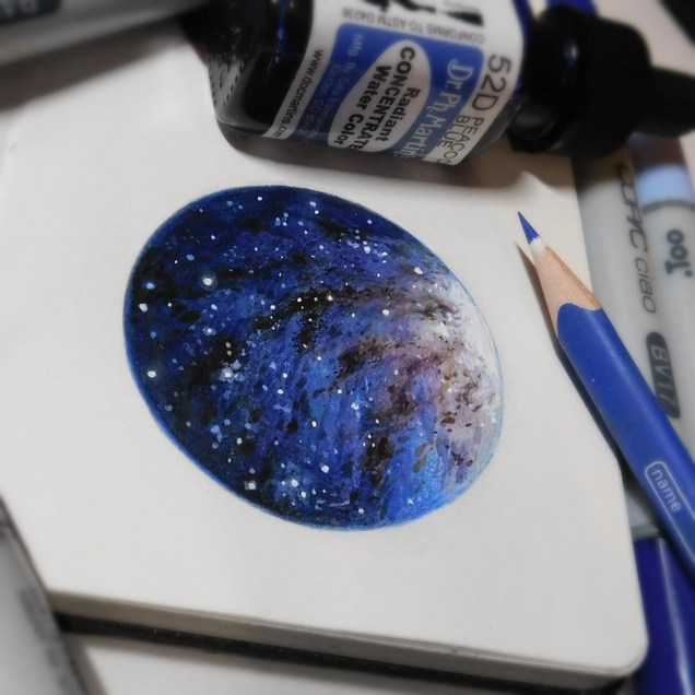 Starry Doodle #4