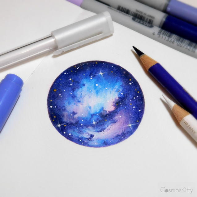 Starry Doodle #6