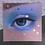 "Thumbnail: Square Print of ""Iridescent II"""