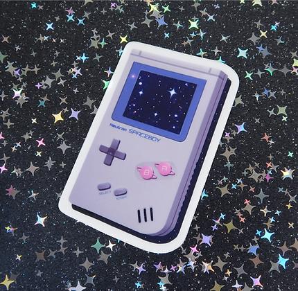 Space Boy - Vinyl Sticker