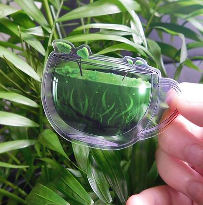 Nature's Remedy - Transparent Vinyl Sticker