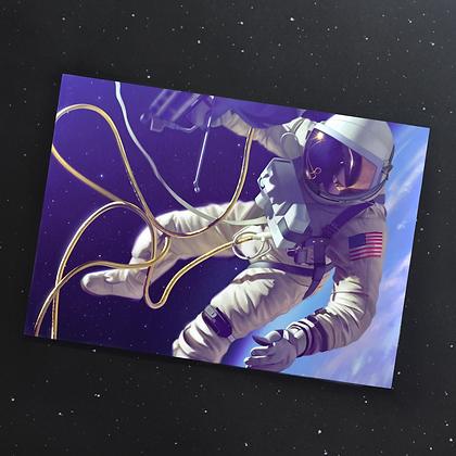 "A4 Print of ""Gemini"""