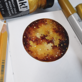 Starry Doodle #5