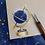 Thumbnail: Celestial Globe - Transparent Vinyl Sticker